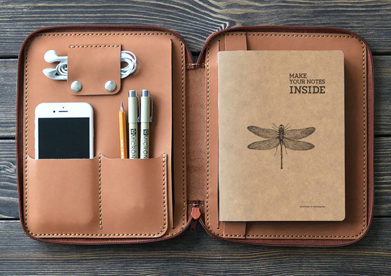 40 Awesome Gift Ideas For Architects And Interior Designers A Small Leather Folio