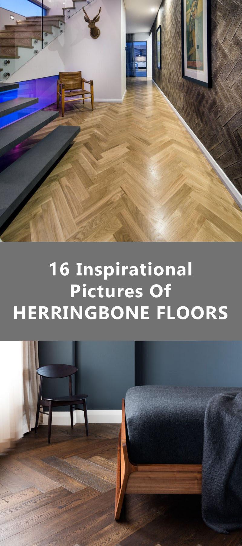 16 Inspirational Pictures Of Herringbone Floors