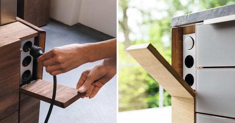 Kitchen design idea hide your electrical outlets for Design outlet