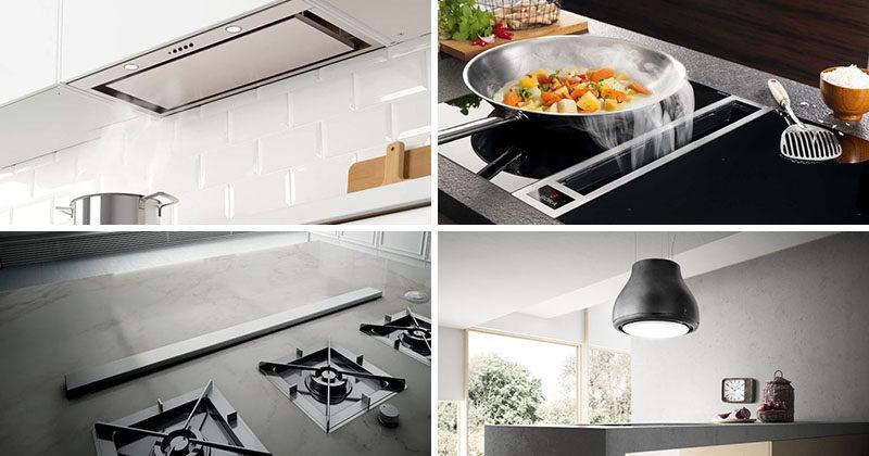 Kitchen Design Idea - Hide The Range Hood
