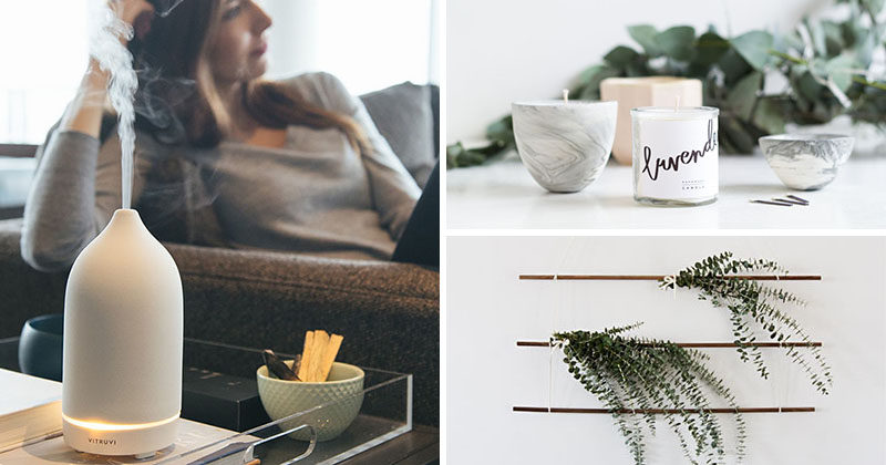 Aromatherapy Ideas - 9 Ways To Make Your Home Smell Amazing