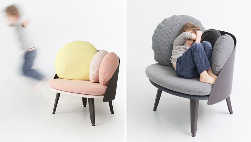 12 Comfy Chairs Perfect For Relaxing In // Kids Like To Get Comfy Too!