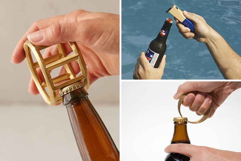 Essential Kitchen Tools ? 10 Unique Beer Bottle Openers