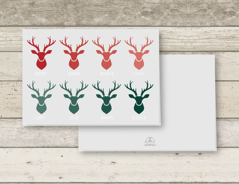 14 examples of modern christmas cards to keep your holidays contemporary - Modern Christmas Cards