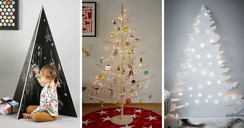 12 Modern Christmas Trees You Can Decorate With This Holiday ...