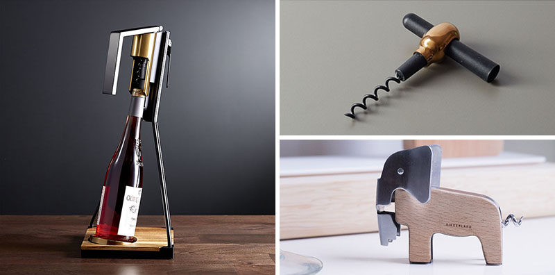 Essential Kitchen Tools 10 Amazing Corkscrew Designs Contemporist