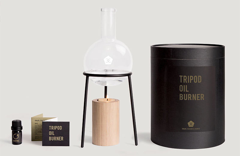 6 Ways To Introduce Modern Aromatherapy Into Your Home And Life / Designer Oil Burners.