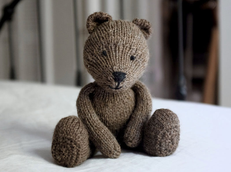 Gift Guide - 30+ Gift Ideas For The Modern Kid In Your Life // Modern Teddy Bear