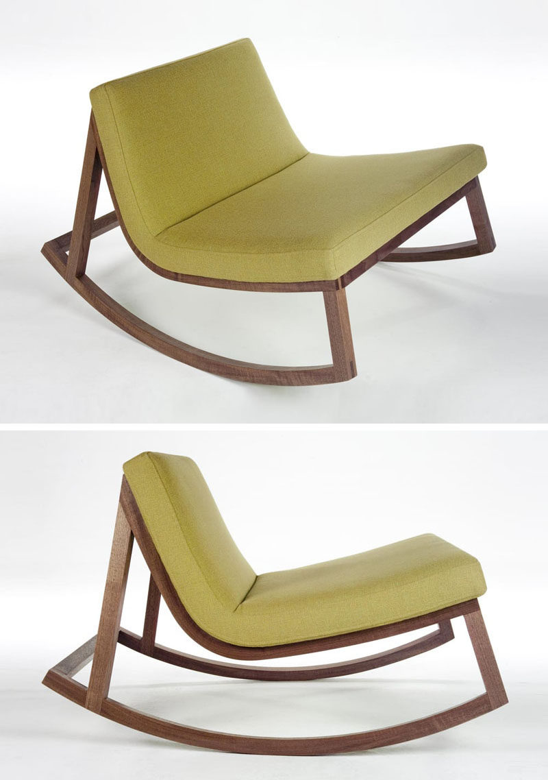 Furniture ideas 14 awesome modern rocking chair designs for your home contemporist - Chairs design ...