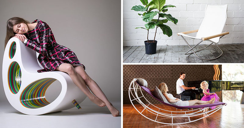 Furniture Ideas - 14 Awesome Modern Rocking Chair Designs For Your Home