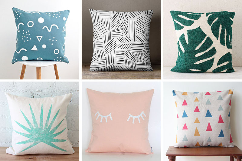 Home Decor Ideas - Liven Up Your Living Room With Some Colorful And Fun Throw Pillows (27 Ideas!)