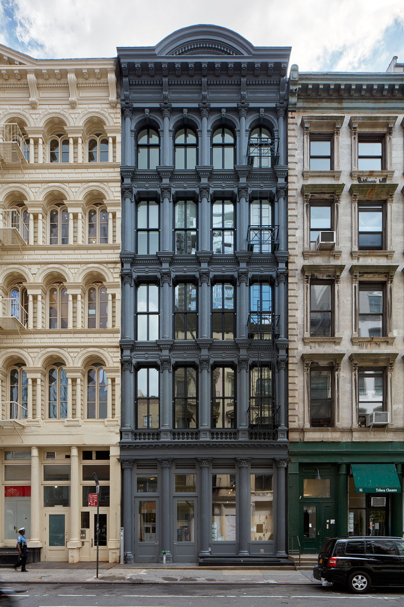 This old building in New York has been transformed into modern ...