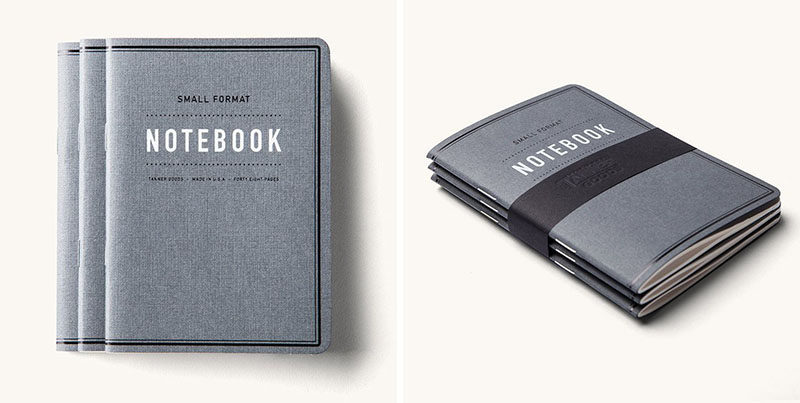 40 Awesome Gift Ideas For Architects And Interior Designers // A collection of small pocket sized notebooks.