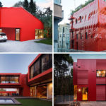 11 Red Houses And Buildings That Aren't Afraid To Make A Statement