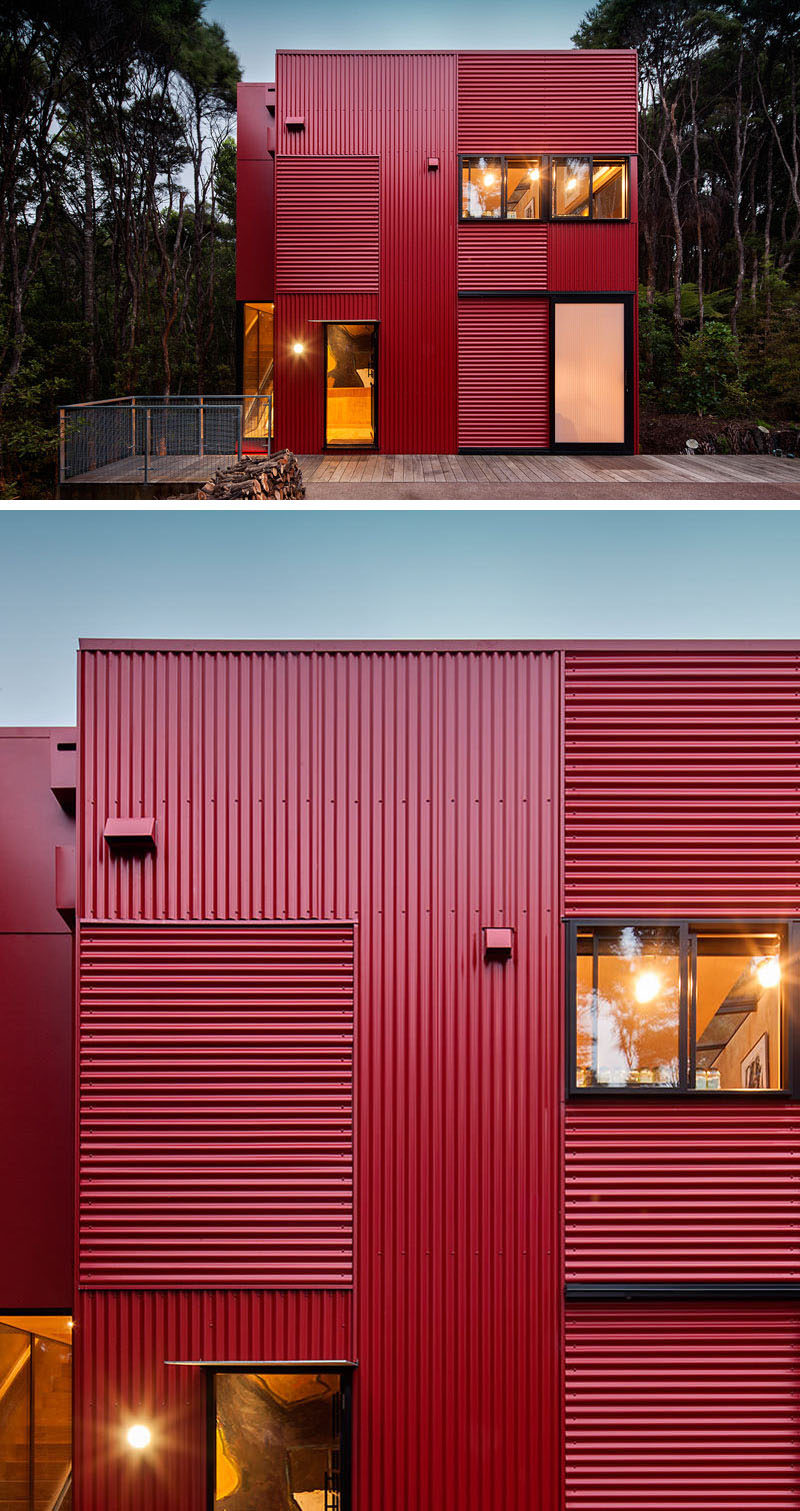 11 Red Houses And Buildings That Aren T Afraid To Make A