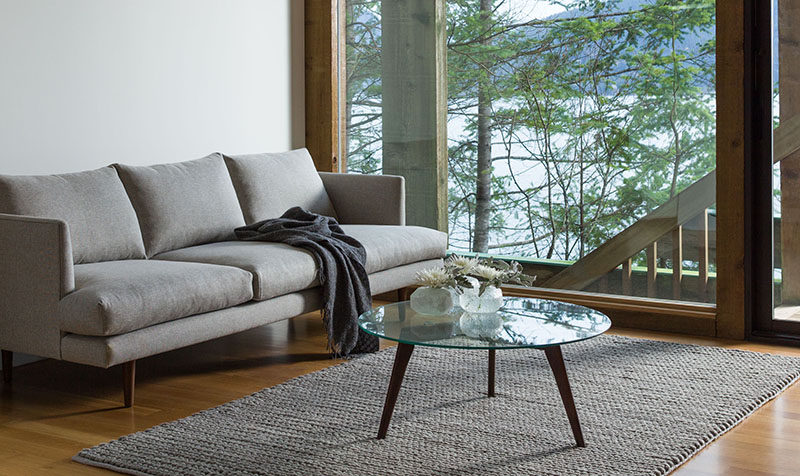 Superb Furniture Ideas Round Coffee Tables Made From Glass