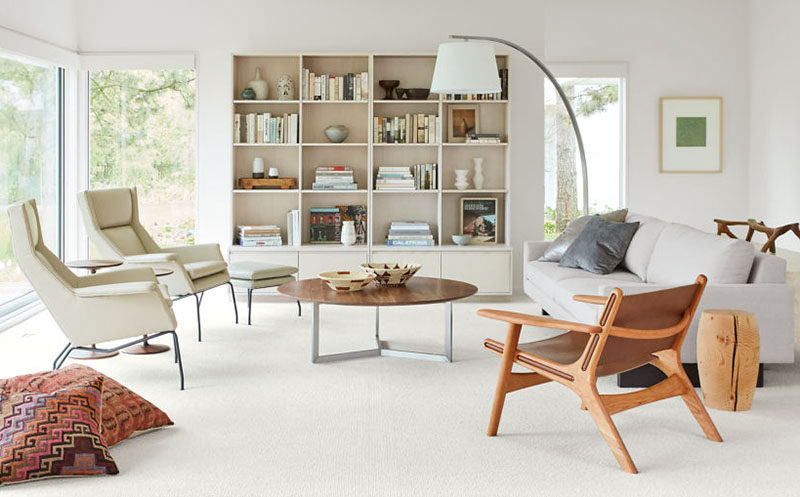 Vintage Furniture Ideas Round Coffee Tables Made From Wood