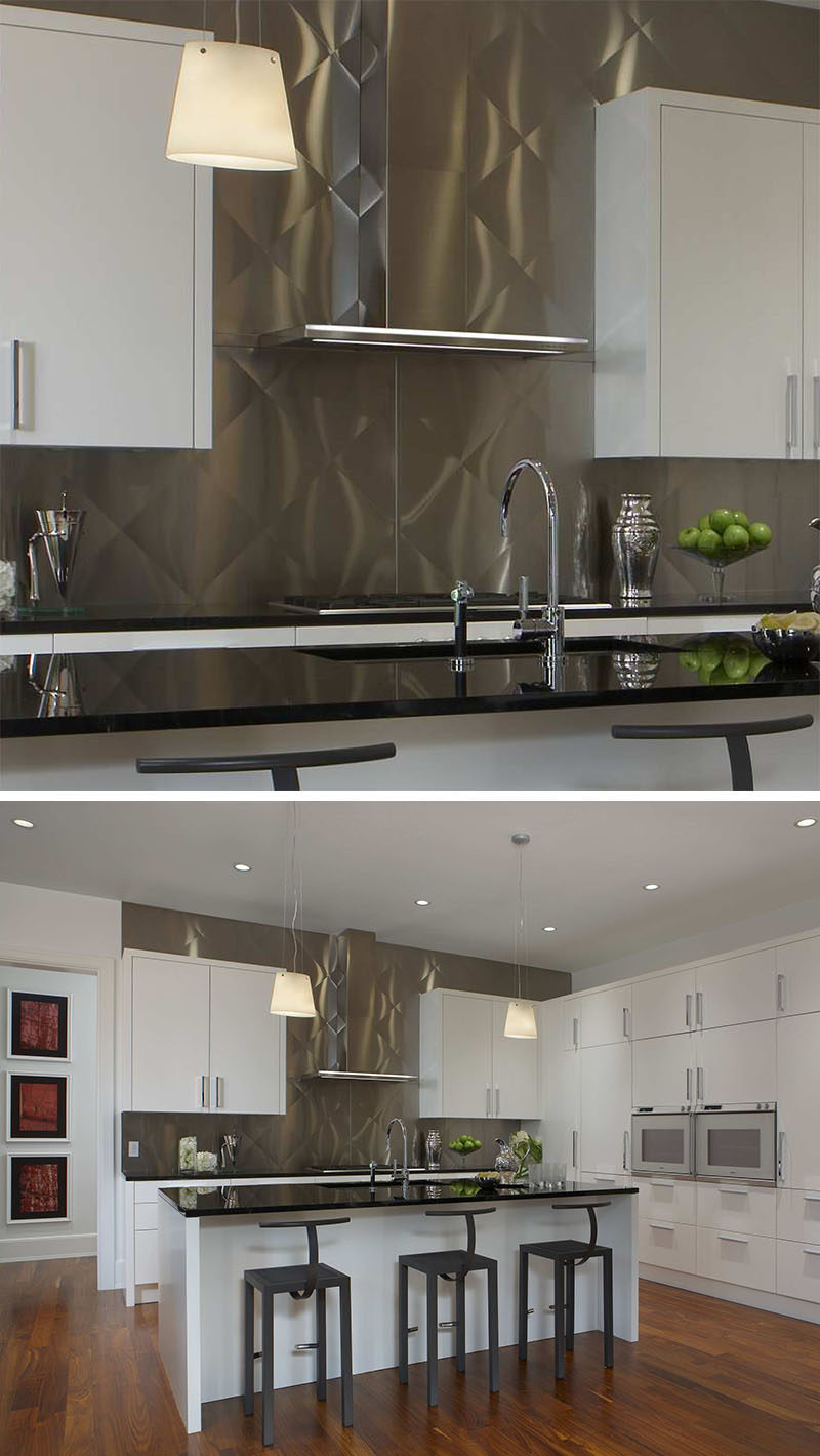 Stainless Steel Kitchen Backsplash Panels Getting The Best Kitchen Backsplash Stainless Steel