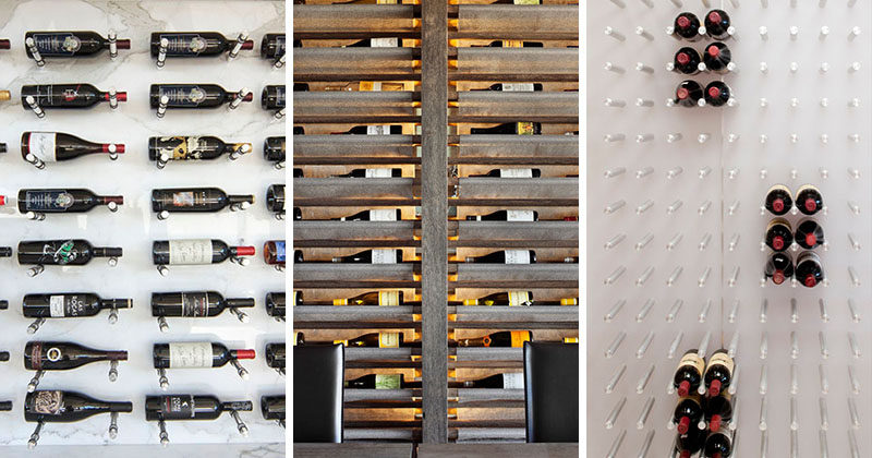 Wine Rack Ideas - Show Off Your Bottles With A Wall Mounted ...
