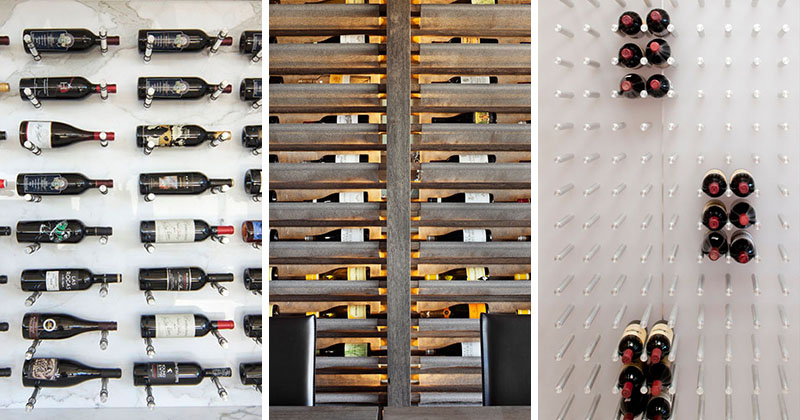 Wine Rack Ideas - Show Off Your Bottles With A Wall Mounted Display