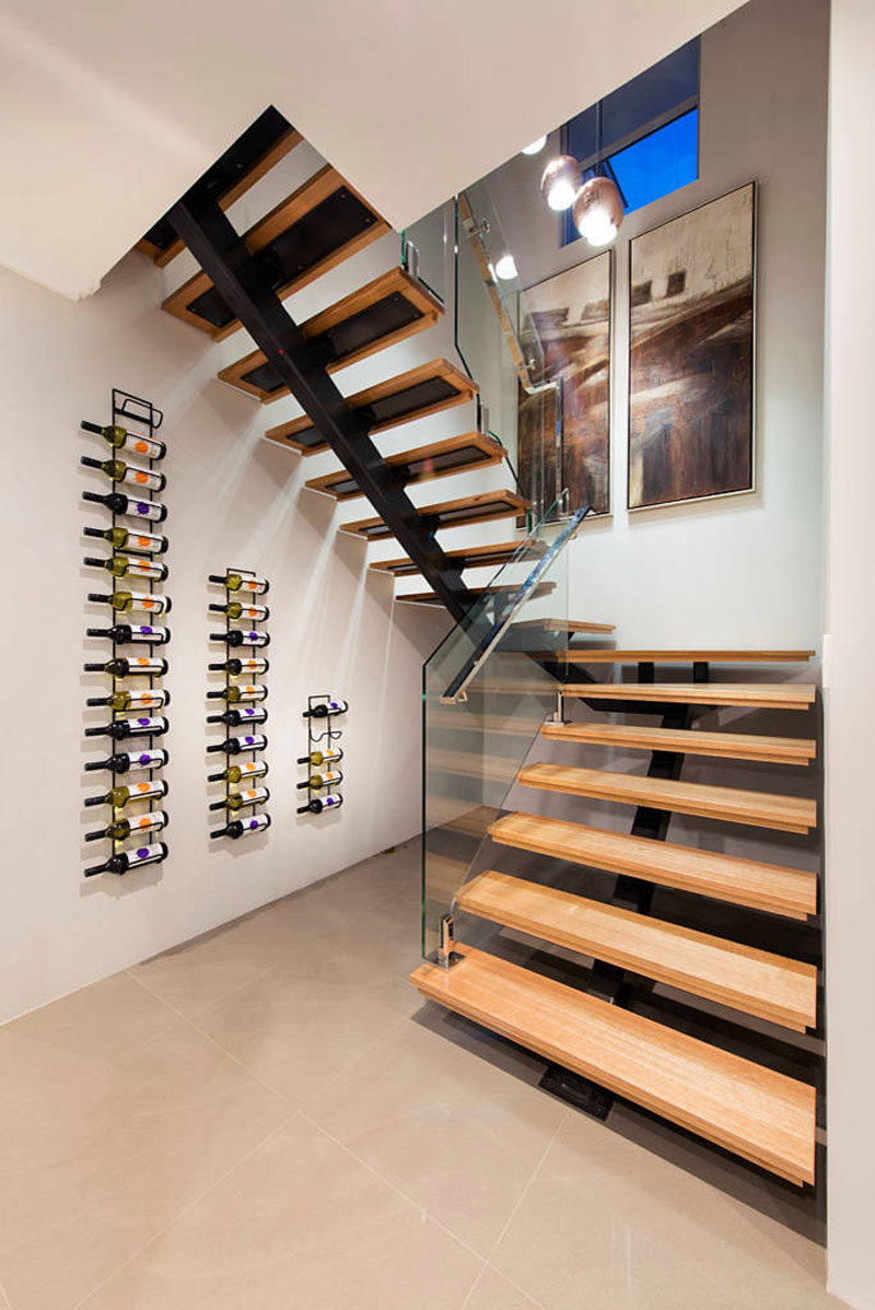 Wall Wine Racks Part - 29: Wine Rack Ideas - Show Off Your Bottles With A Wall Mounted Display // The
