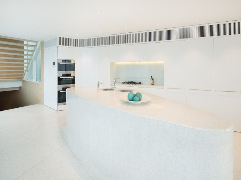Kitchen Design Ideas   White, Modern And Minimalist Cabinets // Everything  Except For The