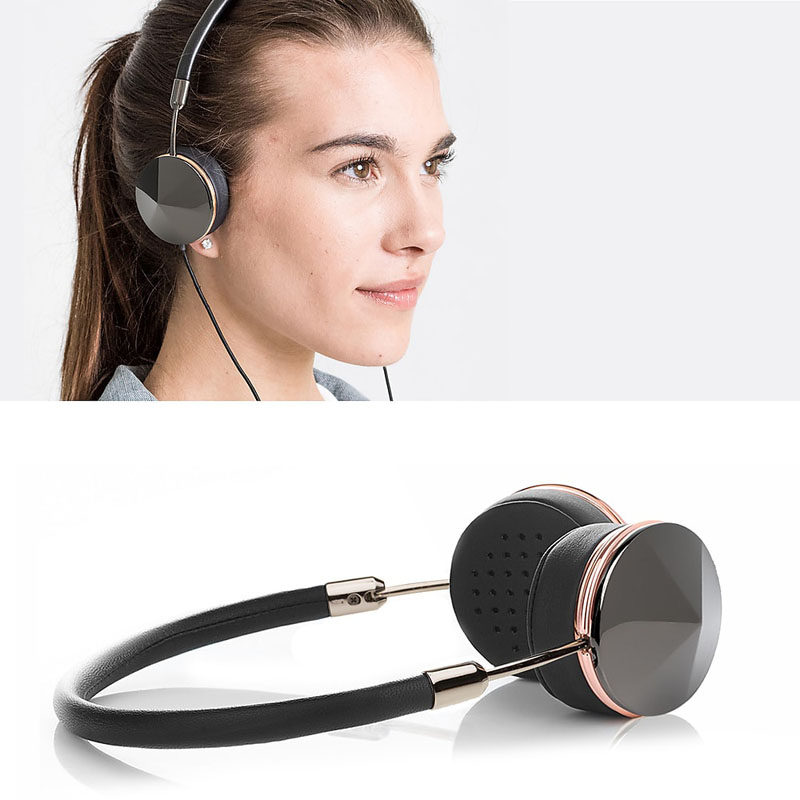 The Ultimate Gift Guide For The Modern Woman (40 Ideas!) // Lots of headphones are made quite large and can feel bulky on smaller heads. These ones are specially designed for people with smaller ears and let them rock super sleek over the ear headphones. #TechGifts #GiftIdeas #ModernHeadphones