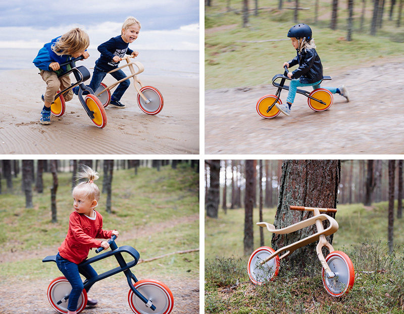 Gift Guide - 30+ Gift Ideas For The Modern Kid In Your Life // If your child isn't quite ready for pedals, these balance bikes are a great way to get your kid moving and working on their biking skills.