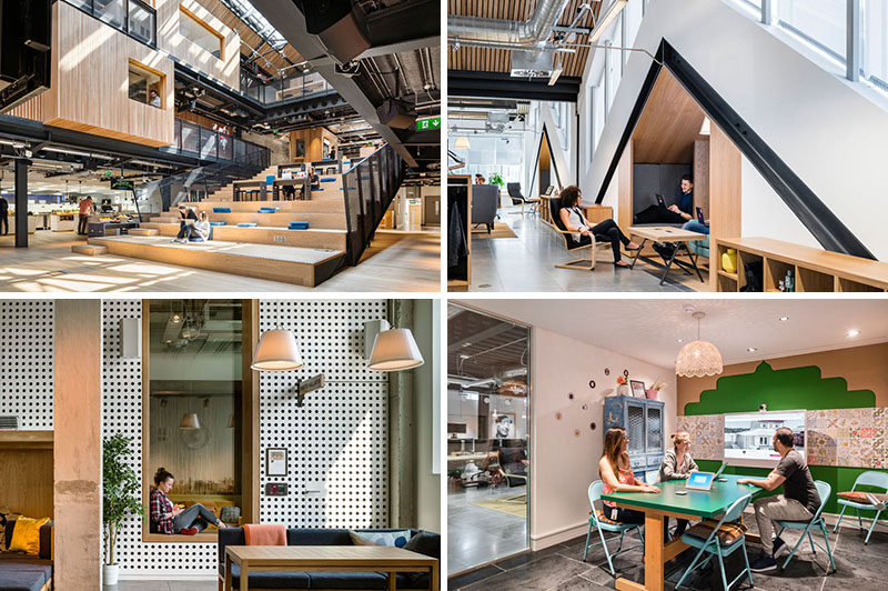 30 pictures of airbnb s spacious new office in dublin contemporist