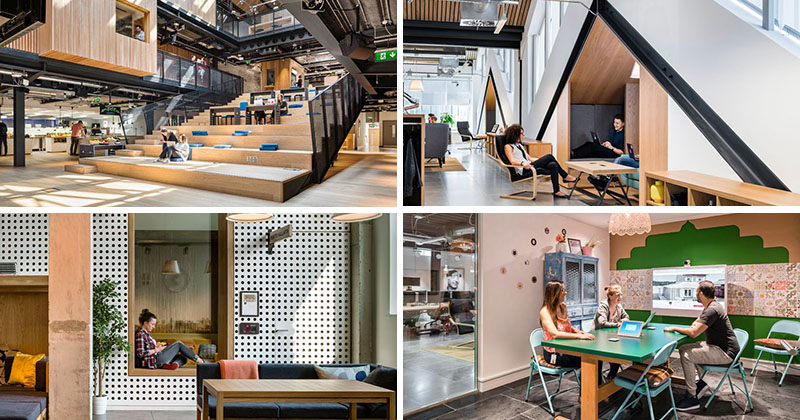 30 pictures of airbnb 39 s spacious new office in dublin contemporist - Airbnb office dublin address ...