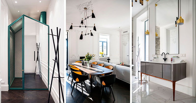 This Apartment Combines Old And New For A Contemporary Look