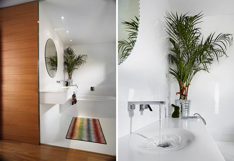 7 Things You Need To Create The Perfect Spa at Home // Plants - Plants are a great way to add a spa like feel to your bathroom because not only do they look beautiful, they're good for your health.