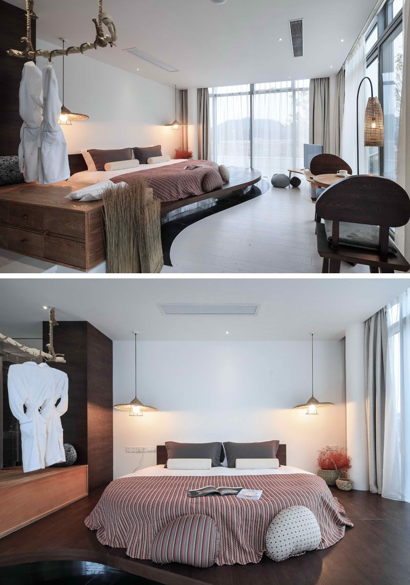 Hotel Room Design Ideas To Use In Your Own Bedroom // Put Your Bed On