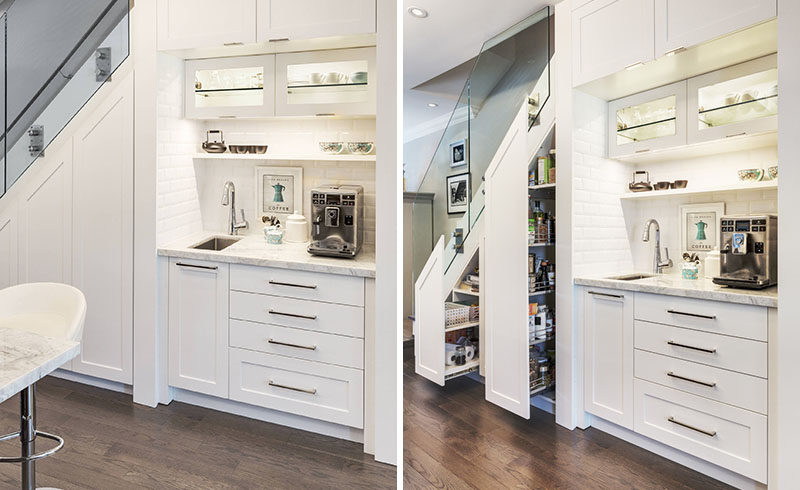 Before And After See How This Home Added A Coffee Station And