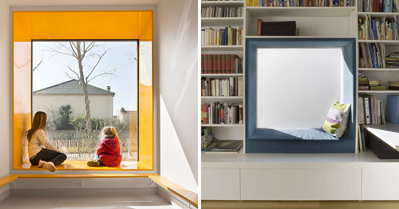 Interior Design Idea - Surround Your Window Seat With Color
