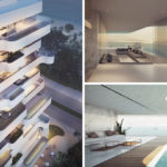 Orange Architects design a unique apartment tower overlooking the beach in Limassol, Cyprus