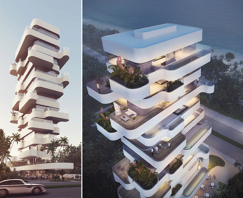 Orange Architects Have Recently Won A Compeion For The Design Of Residential Tower With Their
