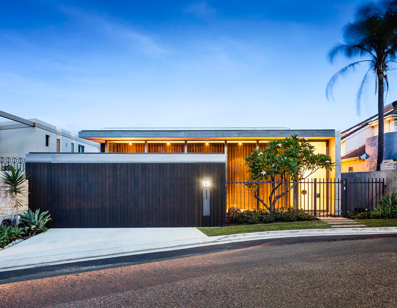 Madeleine Blanchfield Architects have designed a home in Sydney, Australia, for a young family that wanted this home to become their forever home.