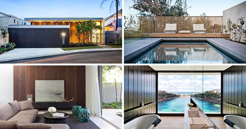 Madeleine Blanchfield Architects Design A Modern House Overlooking The Ocean In Sydney, Australia