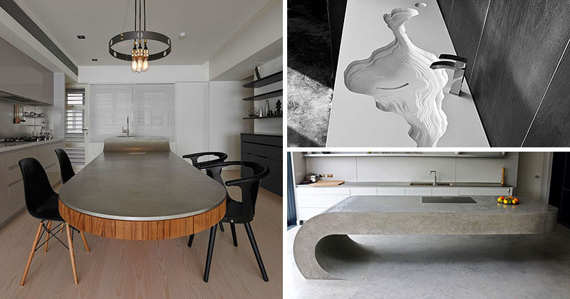 11 Creative Concrete Countertop Designs To Inspire You CONTEMPORIST