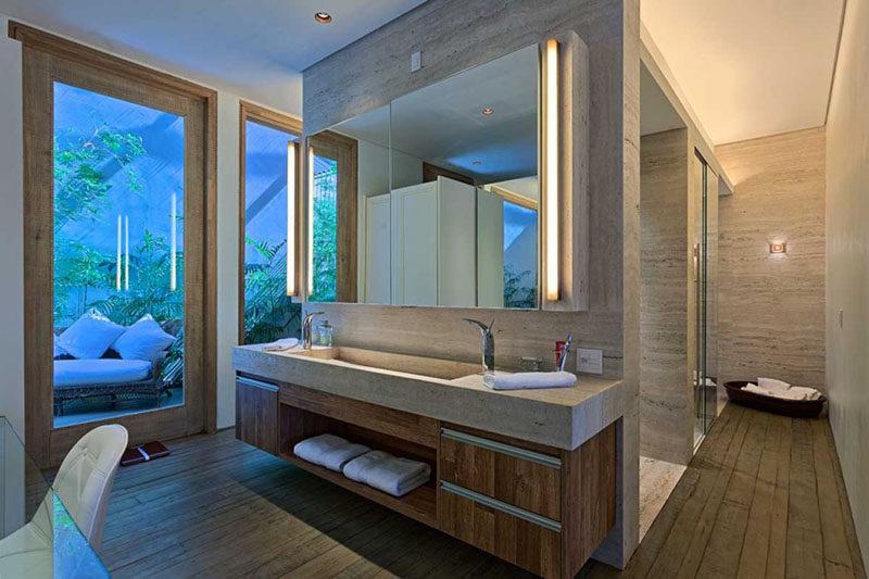 Bathroom Design Idea Extra Large Sinks Or Trough Sinks
