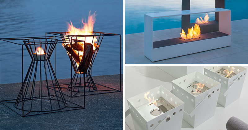Cool Warm Up Your Life With These 13 Freestanding Fireplace Designs Home Interior And Landscaping Eliaenasavecom