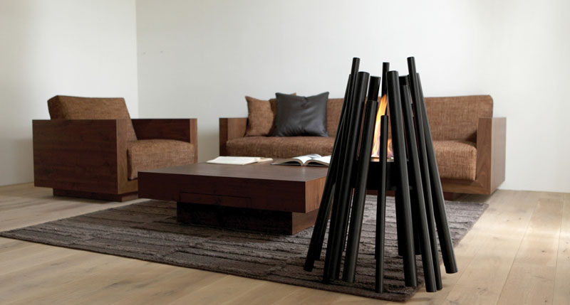 Warm Up Your Life With These 13 Freestanding Fireplace