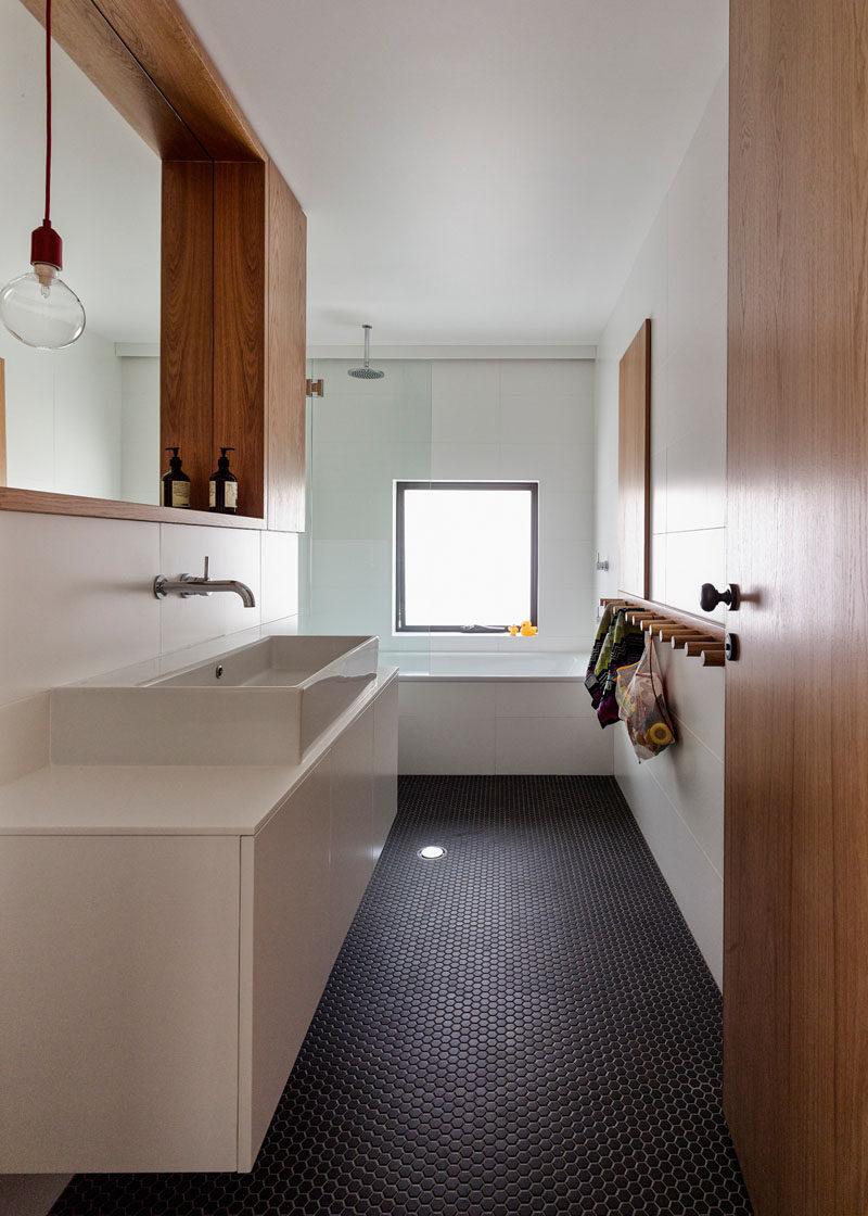 Bathroom Tile Ideas - Grey Hexagon Tiles