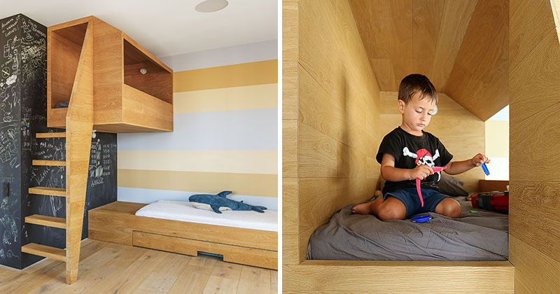 This Kids Bedroom Has A 'Nest' For Them To Play In