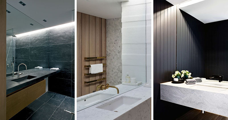 Bathroom Mirror Ideas - Fill The Whole Wall | CONTEMPORIST