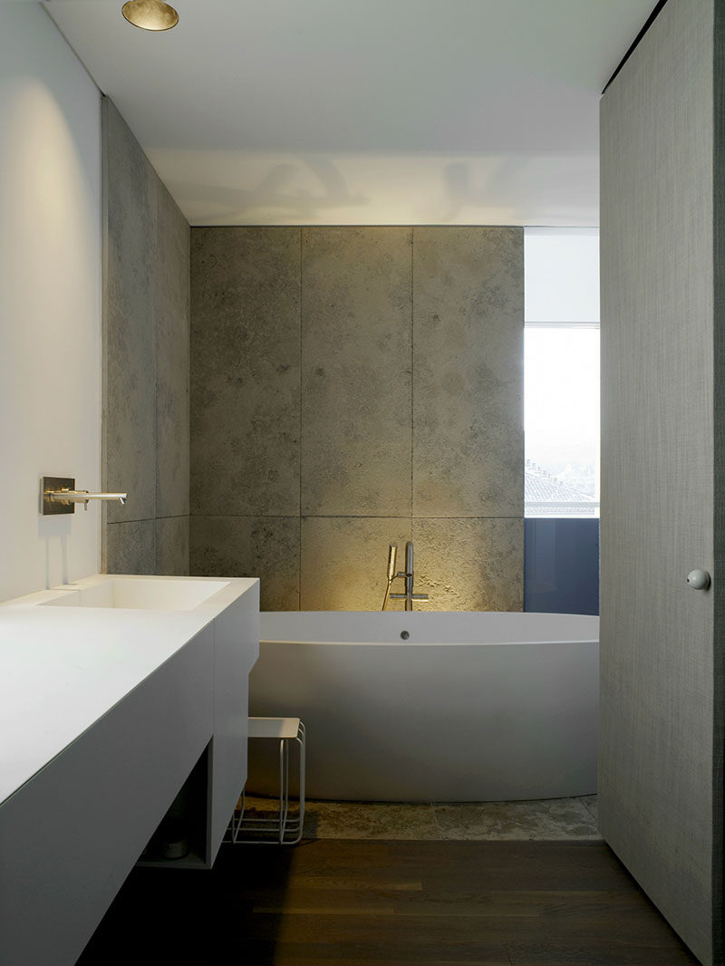 Trend Bathroom Tile Ideas Use Large Tiles On The Floor And Walls Large rectangular