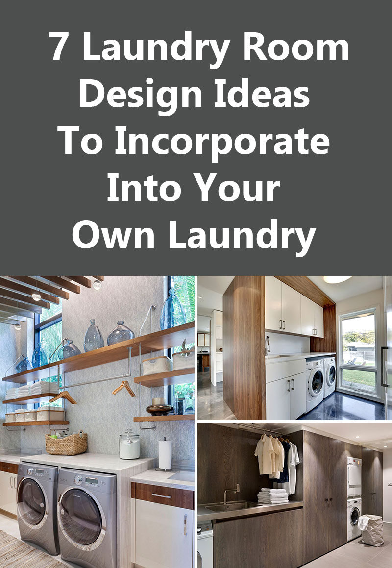 7 laundry room design ideas to use in your home contemporist - Design your room images ...