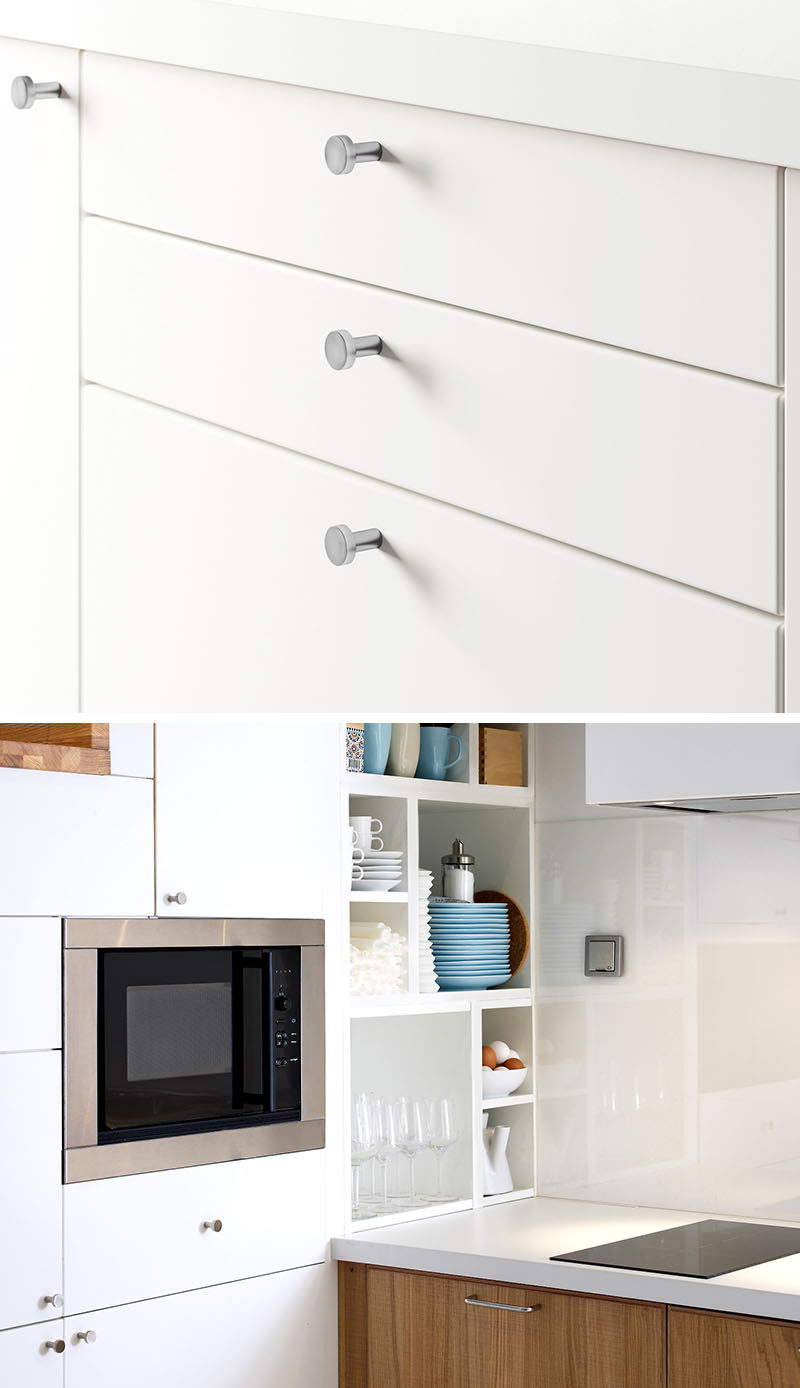8 Kitchen Cabinet Hardware Ideas // Tiny Knobs