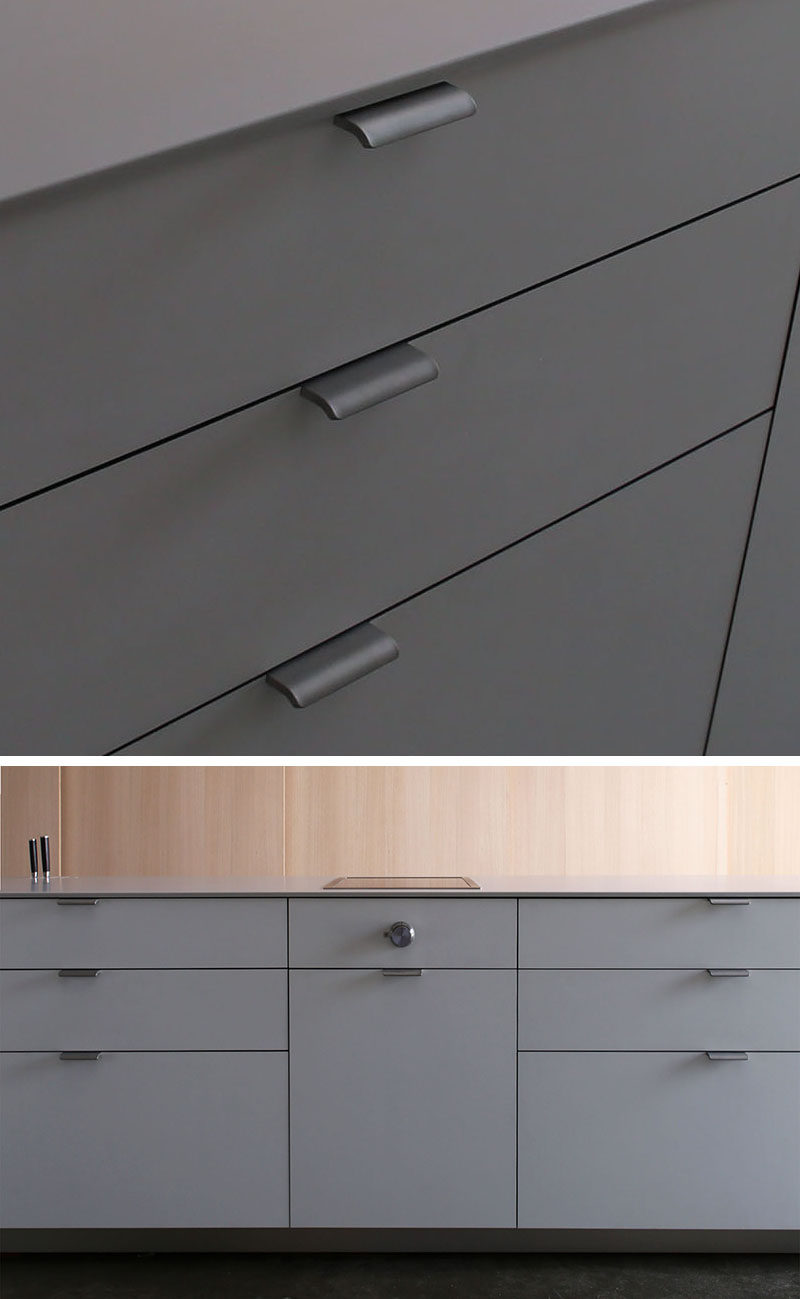 Kitchen Cabinet Hardware Ideas For Your Home CONTEMPORIST - Gray kitchen cabinet hardware